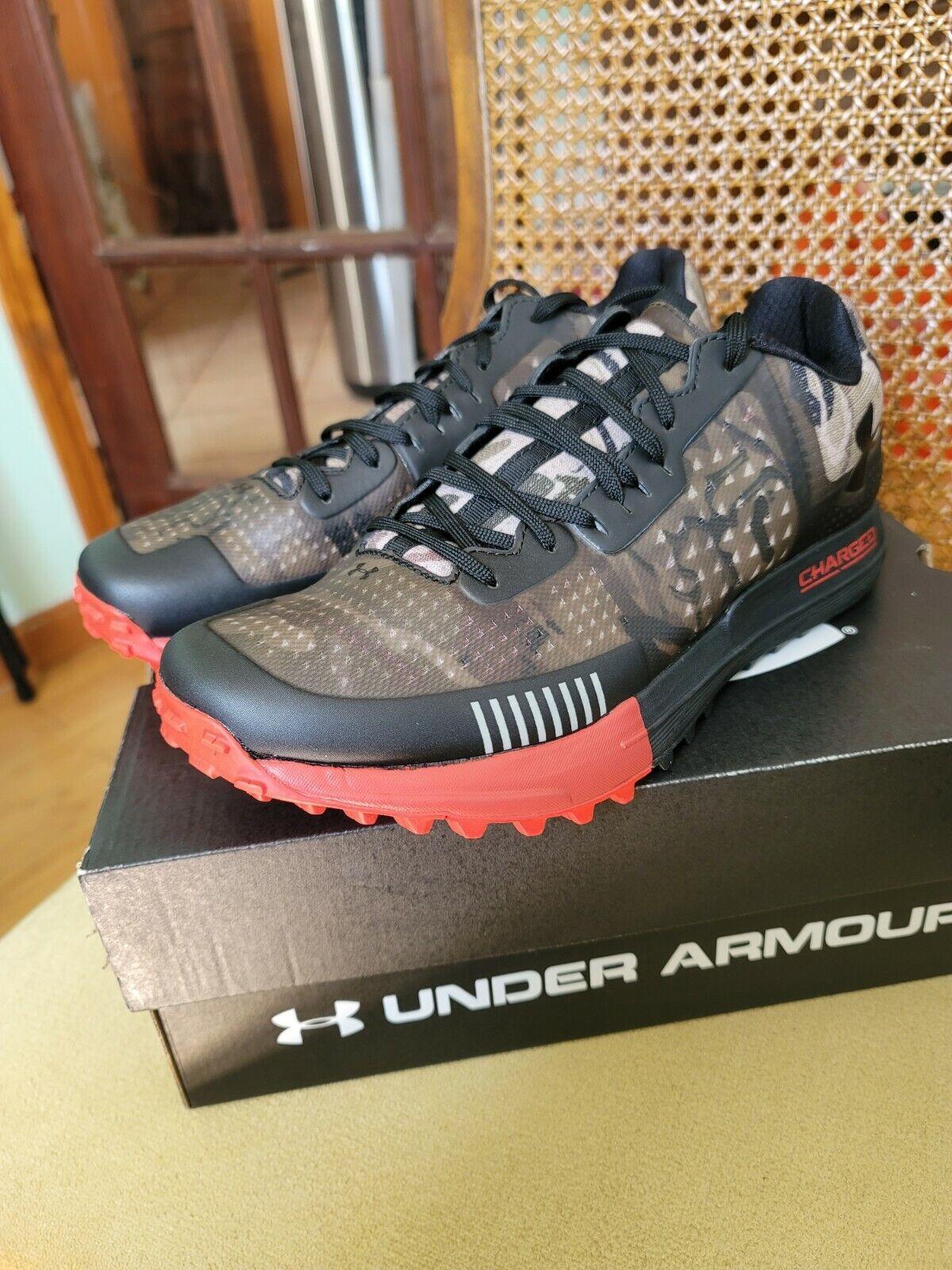 tubo bala Jane Austen  Under Armour Horizon Rtt Trail Running Shoes Mens 10 Camo Black Red  1287337-900 for sale online | eBay