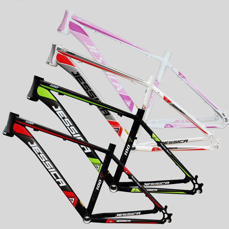 26er MTB Bicycle Frame Aluminum Alloy 15.5 17 18 in BSA 68mm Mountain Bike Frame