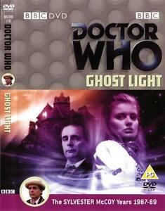 DOCTOR-DR-WHO-GHOST-LIGHT-DVD-vgc-SYLVESTER-MCCOY-Ghostlight-Dr-Who-BBC-TV-DVD