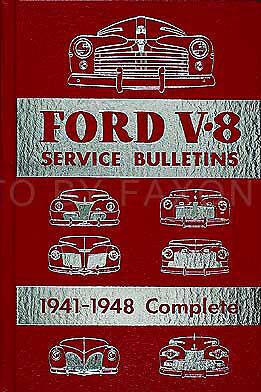 Lincoln Mercury Service Bulletins CD 1948 1947 1946 1941 1940 1939 1938 Repair