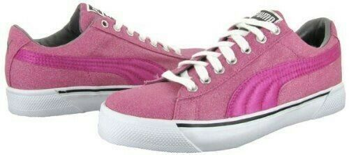 Women PUMA Benita Pink Super Sparkle shoes Sneaker Size 8
