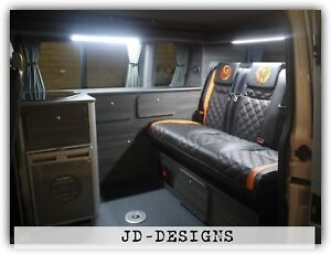Details about Vw Transporter T5 T6 Camper Van Slimline Kitchen Unit For RIB  129 130 Bed System