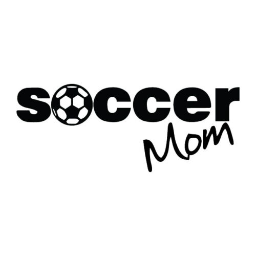 #218 SOCCER MOM SPORTS CLEATS ANY SIZE OR COLOR CUSTOM CUT VINYL DECAL STICKER