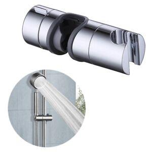 Universal-verstellbare-18-bis-25-mm-Chrom-Brausekopf-Slider-Halter-DE-eNwrg