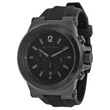 Michael Kors Black Silicone Strap Mens Watch MK8152