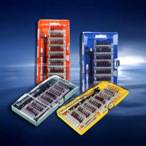 60 en 1 multi magnétique fonctionnelle Precision Bit CR-V tournevis réparation outil CBY