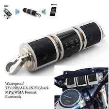 Motorcycle Bluetooth Wireless Audio Scooter Bike Radio Speakers FM & MP3 Player