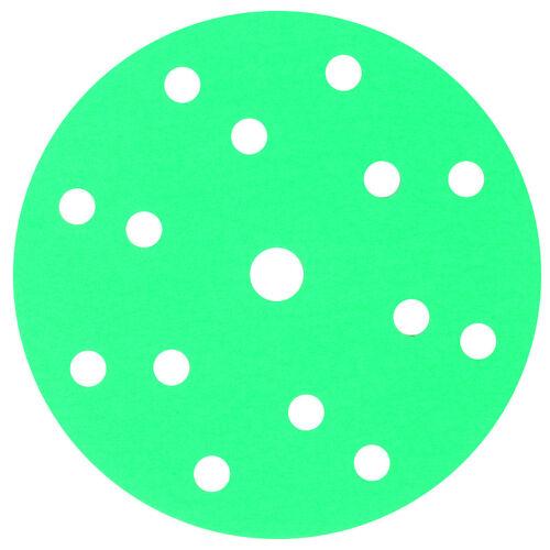 100 Blatt CS Green Line Grip 15 L P240 Exzenter Schleifscheibe Klett Lackpoint