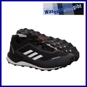 SCHNÄPPCHEN! adidas Terrex Agravic Flow \ schwarz/rot \ Gr.: 39 1/3 \ #S 22064