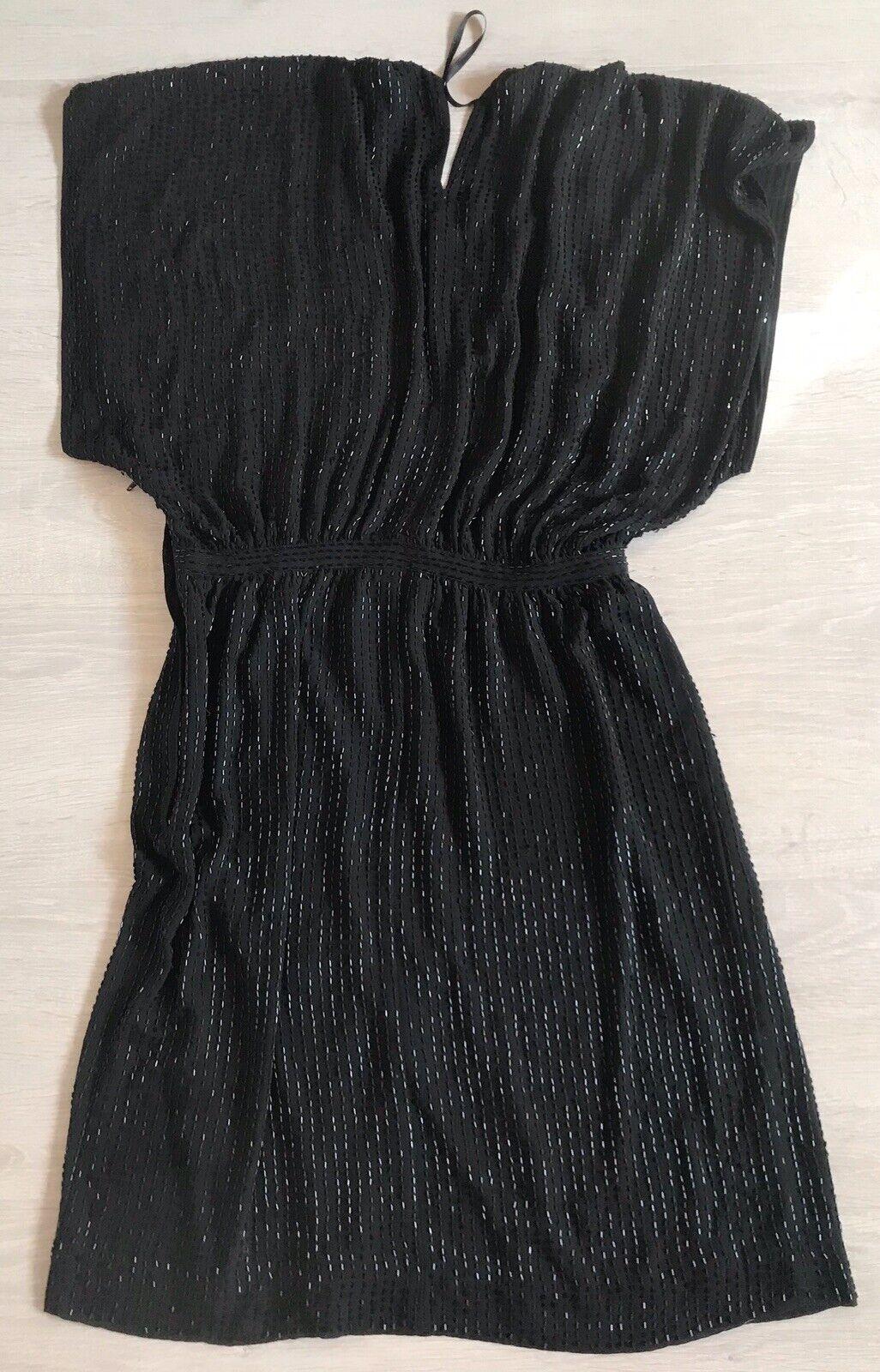 jimmy choo for h&m kleid schwarz gr. 36 party fashion