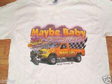 Maybe Baby Rhonda Harstad Hazel Green Wisconsin WI  T Shirt Size L