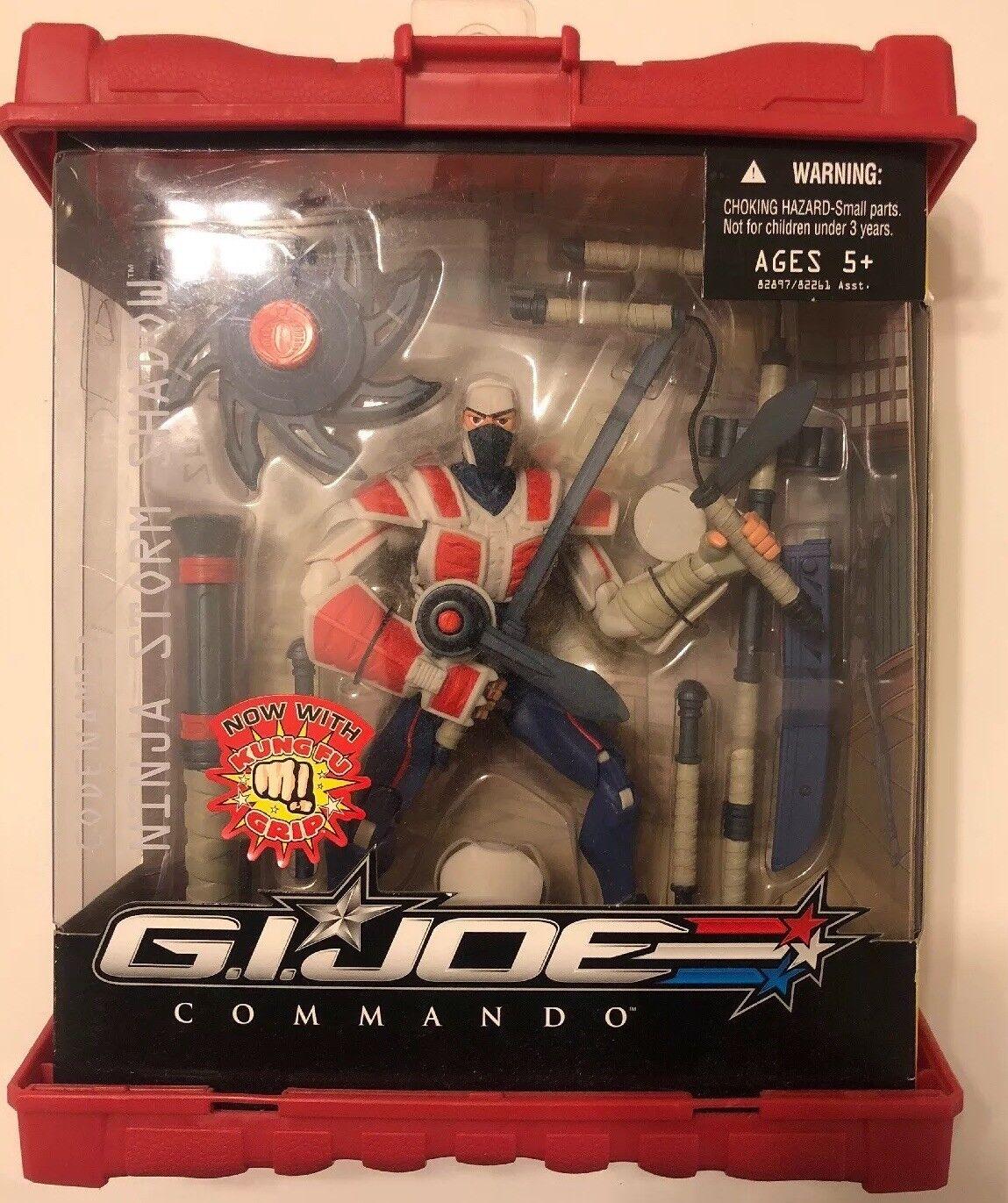Gi - joe sigma 6  ninja storm shadow hasbro figur...