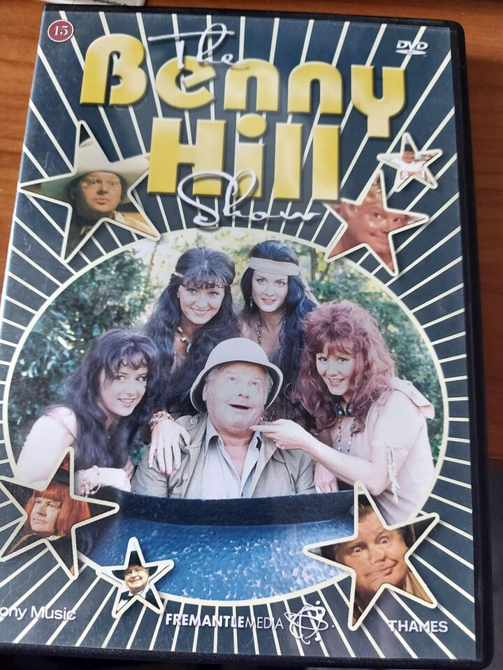 the Benny hill show, DVD, komedie