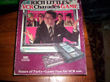 """Rich Little's Charades"" A VCR game"