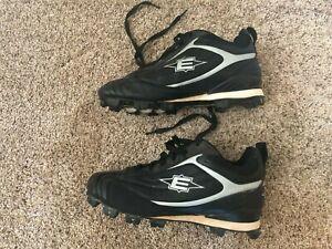 9 Baseball Softball Molded Cleats Black