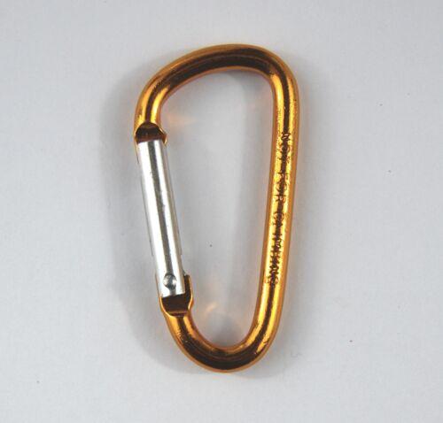 Various Coloured Small Carabiner Clips Snap Hook Keyring Camping Hook Sports