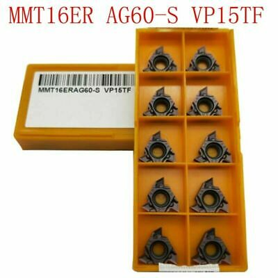 1box MITSUBISHI MMT16ER AG55 VP15TF carbide inserts Threaded blade Free Shipping