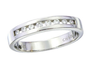 Christ Ring Brillanten 585er Weissgold Ebay