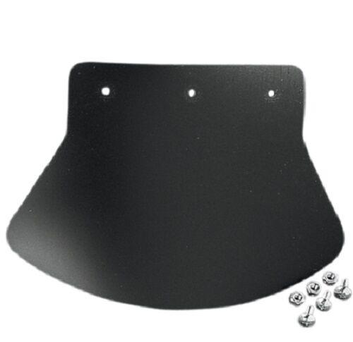 Drag Specialties Medium Plain Rubber Mud Flap DS393702