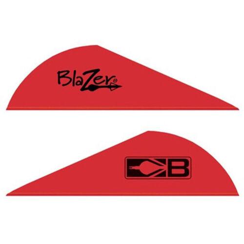 """Bohning Blazer Vanes 2/""""  Red 100 pack"""