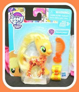 NEW-My-Little-Pony-MLP-The-Movie-G4-Glitter-Design-Applejack-NIP
