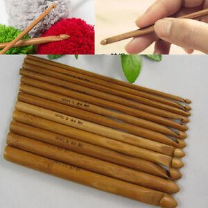 Bamboo-Handle-Crochet-Hook-Knit-Weave-Yarn-Craft-Knitting-Needle-12-PCS-Set-6-034