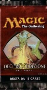36x ITALIAN Magic MTG 10th Tenth Edition X Core Set Booster Packs The Gathering