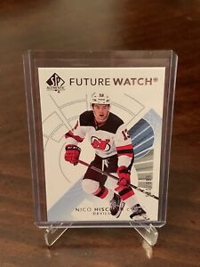 2017-18-SP-Authentic-Future-Watch-NICO-HISCHIER-RC-999