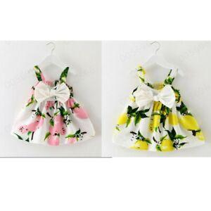 Infant-Newborn-Baby-Girl-Princess-Dress-Bowknot-Gallus-Party-Tute-Dress-Clothes