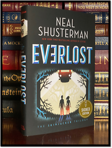 Everlost ✎SIGNED✎ by NEAL SHUSTERMAN New Hardback 1st Edition First Printing
