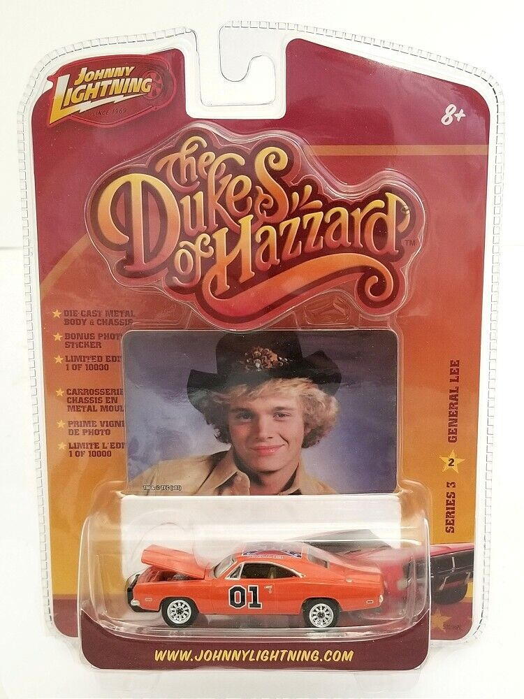 Johnny Lightning Series 3 2 Dukes of Hazzard 1969 Dodge Charger GENERAL LEE 1 64
