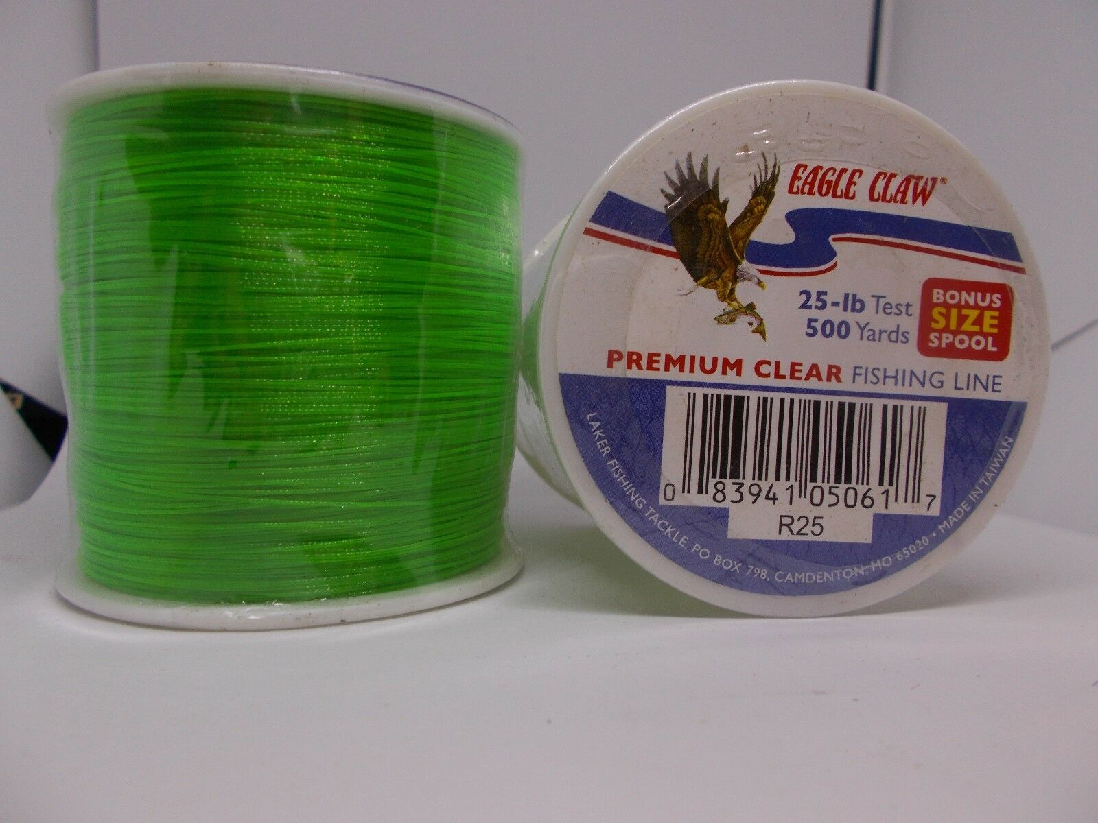 Ande G14-30C Ghost Monofilament Line 1//4 lb Spool 30 lb 400 Yards Clear