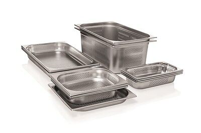 Gastronormbehälter GN Behäter 1//9 Edelstahl wahlweise 65-150 mm Tiefe 1A Ware