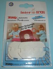 Inter BÄR Teddy Automatik Steckdosen Kinderschutz weiß 067600 5 Stück im Blister