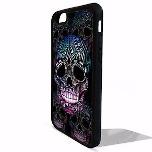 Gothic-sugar-skull-day-of-the-dead-cover-case-for-Iphone-5-5C-5s-SE-6-6S-7-plus