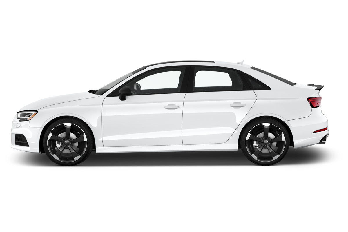 Audi S3 side view