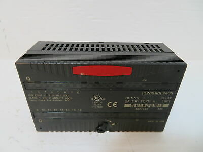 GE Fanuc IC670MDL930J 240V Relay 8 PT 90-70 Isolated Output Module IC670MDL930-J