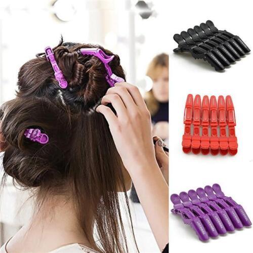 Multi-Color Clips Cheveux Salon sectionnement hairdres Bec Pinces Grips Accessoire FC