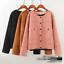 Fashion-Women-039-s-suede-Little-jacket-short-coat-Tops-cardigan-size-hot
