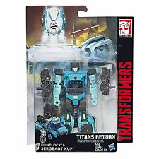 Transformers Generations Titans Return Deluxe Sergeant Kup and Flintlock Wave 4