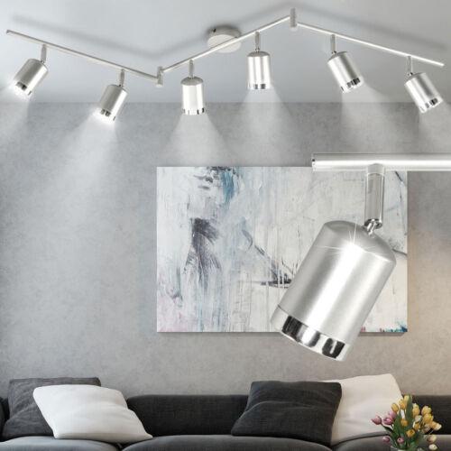LED Design ALU Decken Wand Lampe Leuchte Spot Strahler beweglich WOFI Big Light