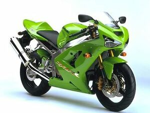 Details about Kawasaki Lime Green ZX9R ZX6R Ninja Touch Up Brush Paint 6000M