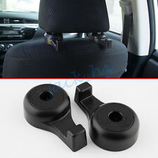 Auto Car Seat Headrest Hook Hanger Holder Pothook Interior Accessories Bag Black