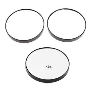 Specchio-Cosmetico-Ingranditore-Ingrandimento-5x-10x-Trasparente-Con