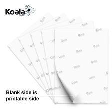 Koala 100 Sheets 85x11 Dye Sublimation Heat Transfer Paper Epson Inkjet Printer