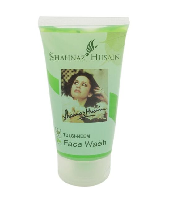 7x50 ML OF NEW SHAHNAZ HUSAIN TULSI-NEEM FACE WASH WITH LOWEST SHIPPING CHARGES