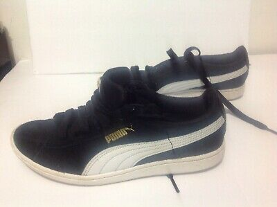 PUMA Sneakers Suede Classic Black Soft Foam Insole Womens 6.5 Shoes | eBay