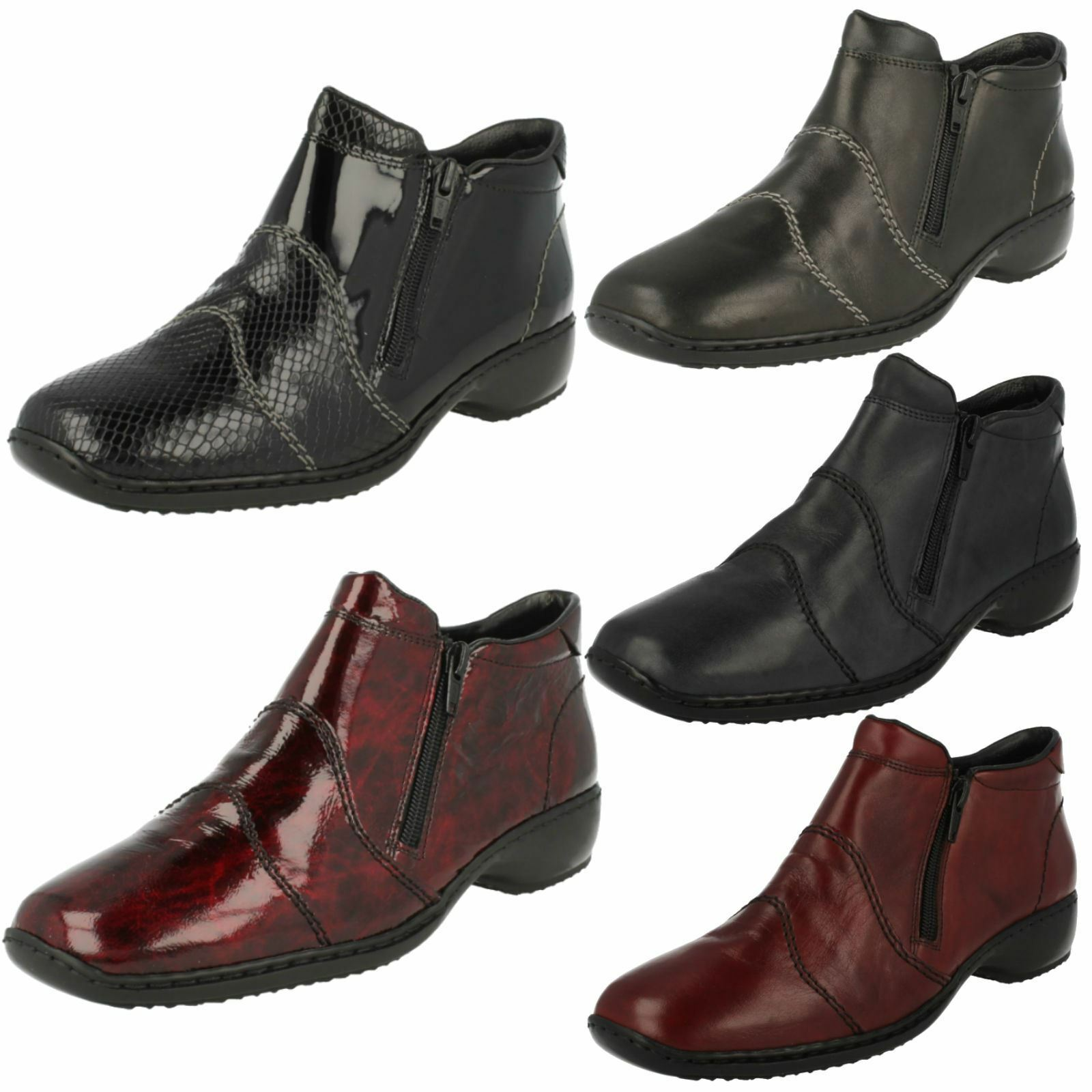 Man/Woman Ladies Rieker Boots, L3892 Elegant appearance Sales Italy Very good color