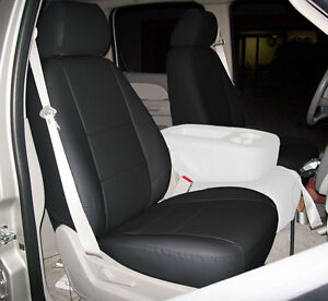 Chevy Silverado 2014 2017 Black Iggee S Leather Custom