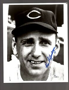 Ken-Raffensberger-D-2002-Signed-Auto-Cincinnati-Reds-8x10-Photo-JSA-R22980